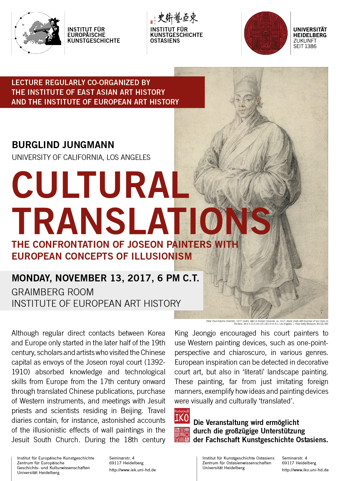 Burglind Jungmann: Cultural Translations: The Confrontation of Joseon Painters with European Concepts of Illusionism