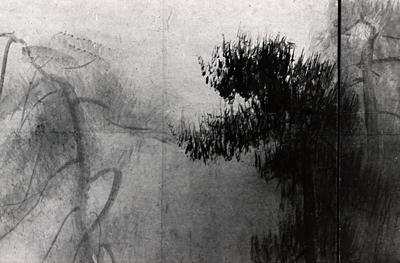 Shōrin-zu Screens by Hasegawa Tōhaku